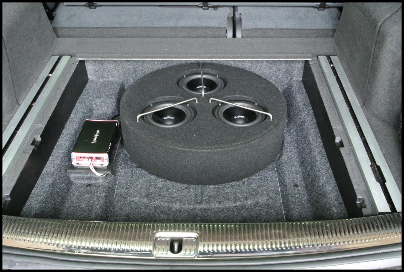 Audi Q5 Rockford Fosgate Amp Exact Audio
